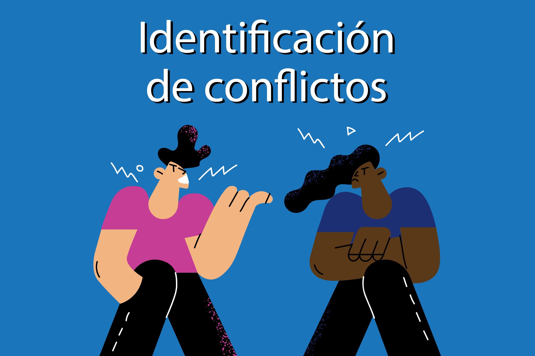 Guía de identificación de conflictos